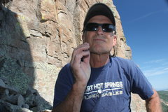 Rock Climbing Photo: Don't feed the wild life.