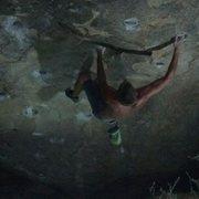 Rock Climbing Photo: Nighttime pocket rocket