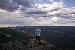 Rock Climbing Photo: Nice view.