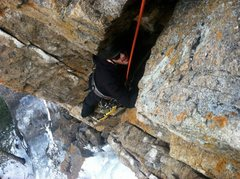 Rock Climbing Photo: Hidden Falls Mixed Climbing