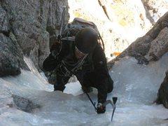 Rock Climbing Photo: Dreamweaver Crux - Solo
