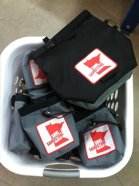 Save Sandstone Chalk bags and buckets coming soon from Organic!