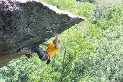Rock Climbing Photo: bustin justin...