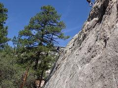 Rock Climbing Photo: Scott rapping off of 'Lil Cruzer'