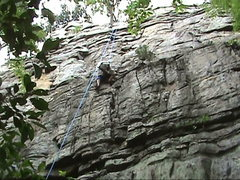Rock Climbing Photo: A.K.A START THE CAR 5.7