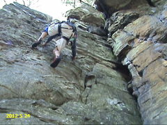 Rock Climbing Photo: GOLDILOCKS 5.5