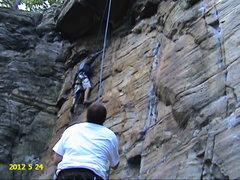 Rock Climbing Photo: PAPA BEAR 5.9