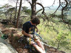 Rock Climbing Photo: Steele - 2012