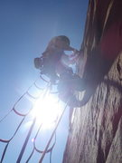 Rock Climbing Photo: it's all A0 in the desert baby!!!