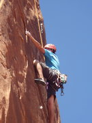 Rock Climbing Photo: taylor workin those moves