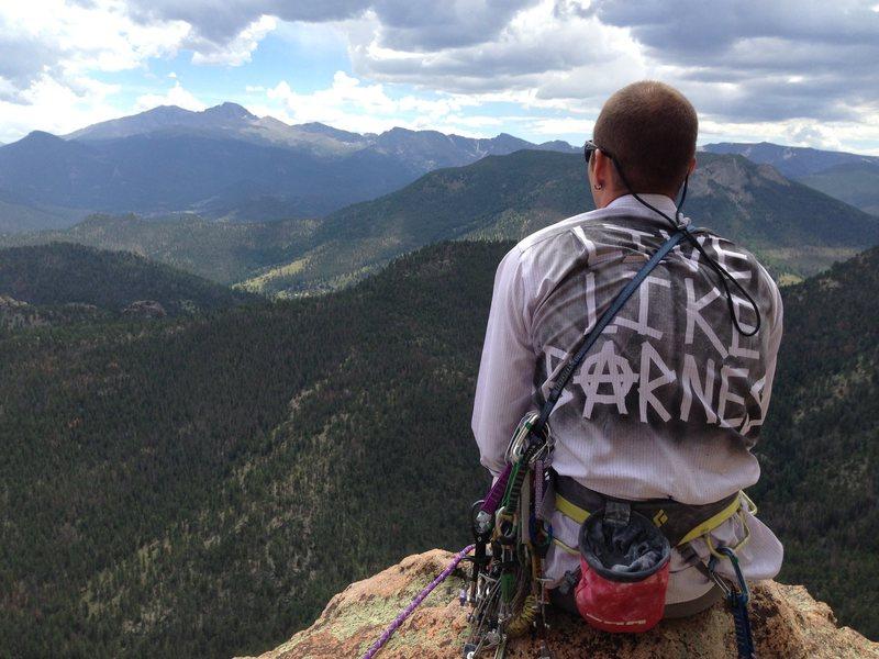 Rock Climbing Photo: Summit of Sundance Buttress