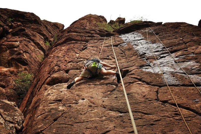 Rock Climbing Photo: On MondoFreako