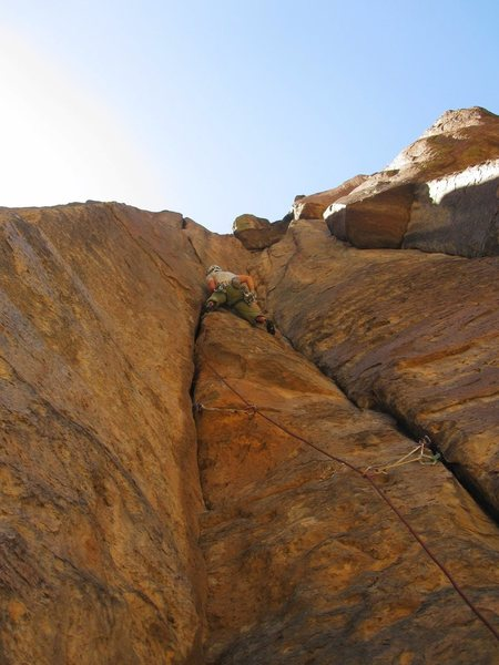Rock Climbing Photo: On the kid.