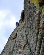 Rock Climbing Photo: EFR took the shot of me trying to stare the second...