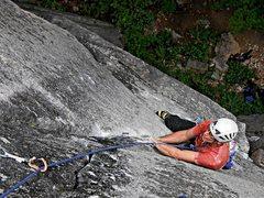 Rock Climbing Photo: Tom Michael pitch one Heaven's Gate.