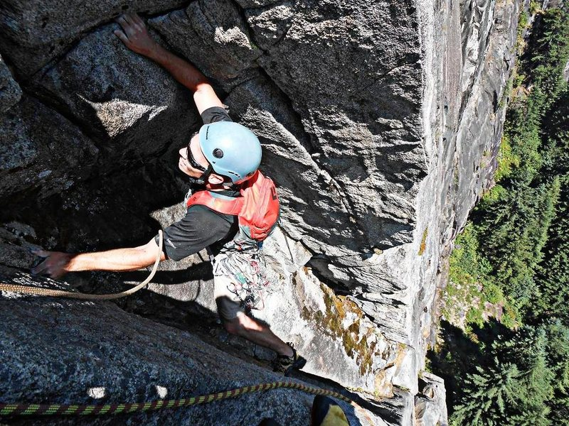 Loren Foss on pitch 1 of Lovin' Arms