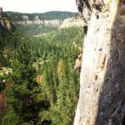 Rock Climbing Photo: Streaker 5.12c