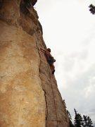 Rock Climbing Photo: Brian figures out Better Off Dead 5.10c  Big Pictu...