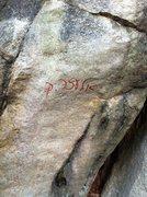 Rock Climbing Photo: Graffiti exhibit #3