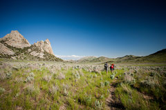 Rock Climbing Photo: The hike out from the Yellow and Weather Walls are...