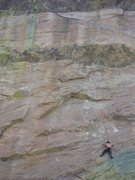 Rock Climbing Photo: The endless sea of Sandstone on this 40 meter rout...