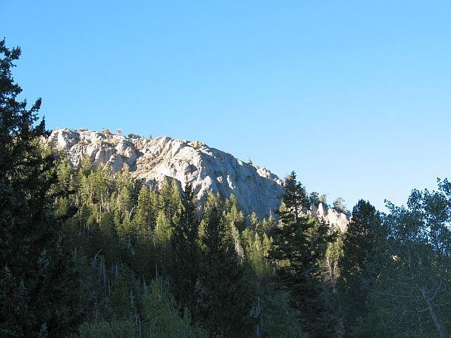 A limestone crag near Timber Creek CG, Ely