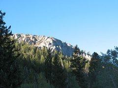 Rock Climbing Photo: A limestone crag near Timber Creek CG, Ely