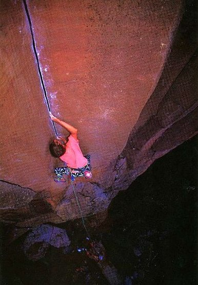 Ryan Fields on Mutiny on the Bounty (5.11+), Paradise Forks<br> <br> Photo by Emerich Hlava