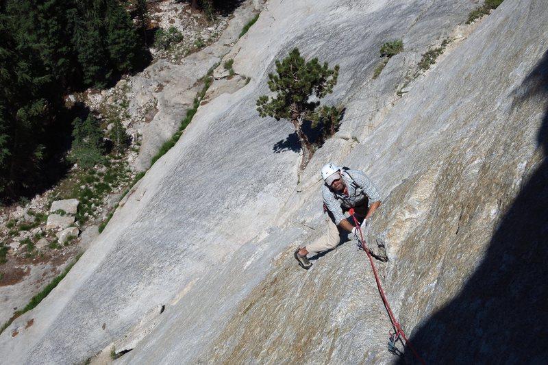 Rock Climbing Photo: P1 West Crack