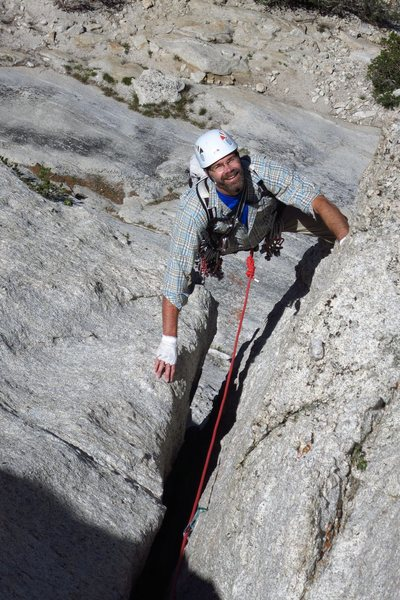 Rock Climbing Photo: Following P1