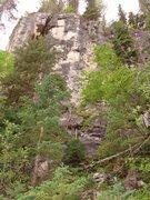 Rock Climbing Photo: Sins Wall (Right).