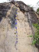 Rock Climbing Photo: Sloth, 5.11d
