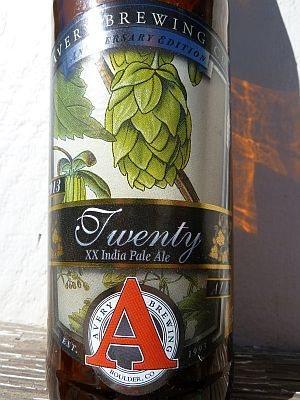 Avery Brewing Twenty DIPA