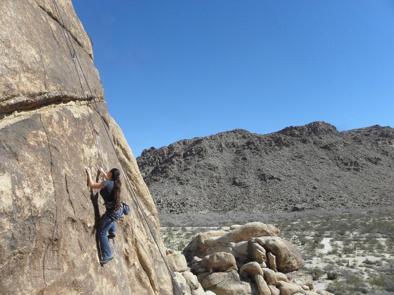 Rock Climbing Photo: Pretty Woman