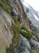 Rock Climbing Photo: franciscov exploring the start of the 'garden' pit...