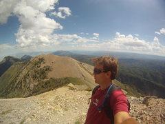 Rock Climbing Photo: Atop Mt. Nebo Utah