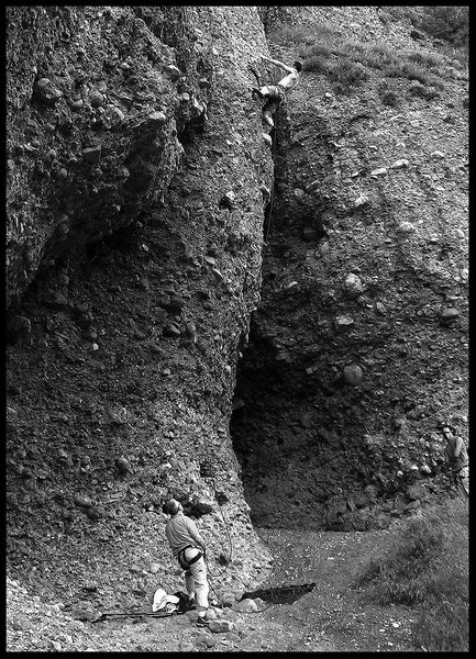 Rock Climbing Photo: Shoreline