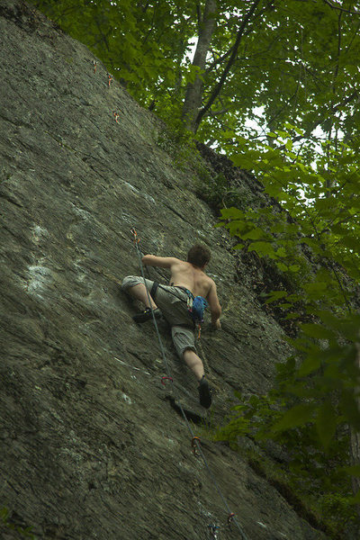 Rock Climbing Photo: Crimpin' Rubicon