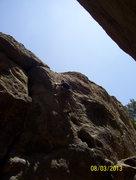 Rock Climbing Photo: Jason Yost on Nabisco Canyon, Stoney Point, Simi V...