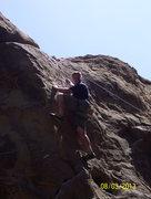 Rock Climbing Photo: Jason Yost posing for a shot at Nabisco Canyon, St...
