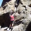 Cracking it up on Nabisco Canyon, Stoney Point, Simi Valley, CA
