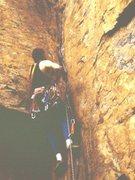 Rock Climbing Photo: Lead on TWall or Sunset, Chattanooga, TN