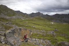 Rock Climbing Photo: Keenan on California Red.