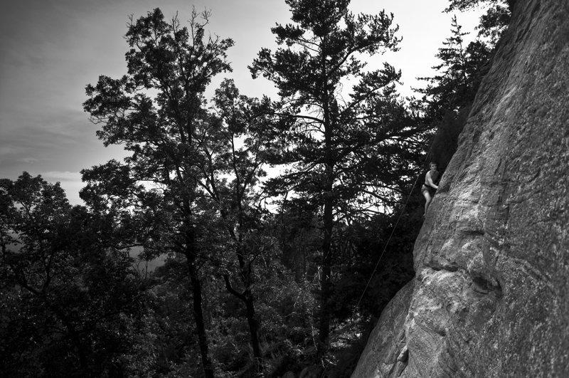 Rock Climbing Photo: Trad and True