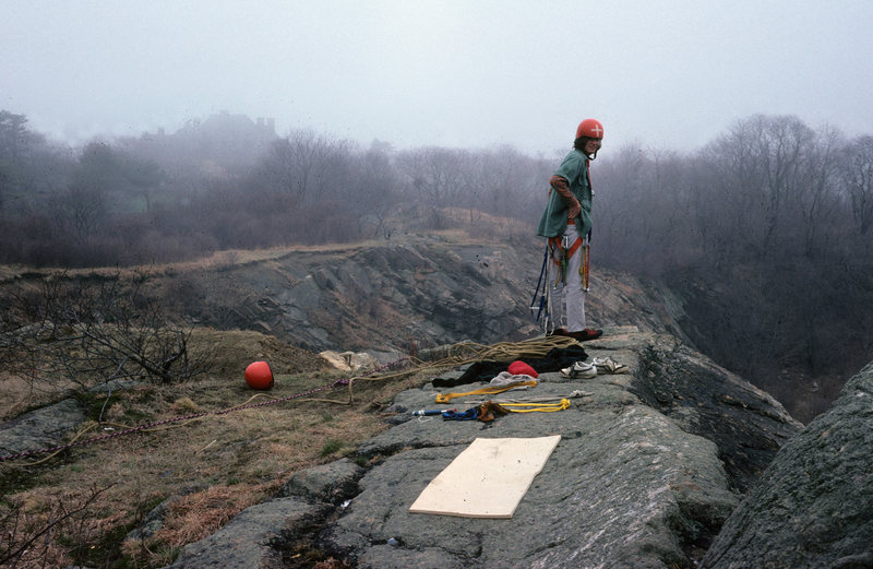 Rock Climbing Photo: Newport Quarry, circa 1975