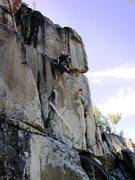 Rock Climbing Photo: Finally getting to the handcrack!