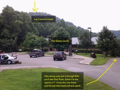 Rock Climbing Photo: If you park in the Gladie Learning Center, you can...