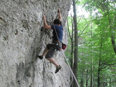 Rock Climbing Photo: Me at the start