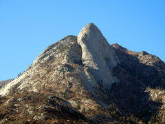 Rock Climbing Photo: Sugarloaf area showing East Slabs on the left side...