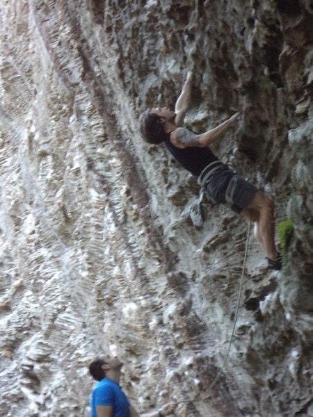 Rock Climbing Photo: Burliers bane red river gorge
